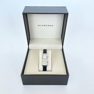 BURBERRY SWIVEL FACE DUAL TONE & TIME WATCH